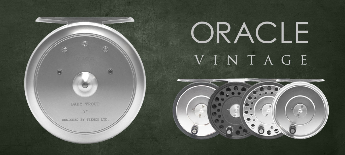 Oracle Classic Vintage Fly Reels