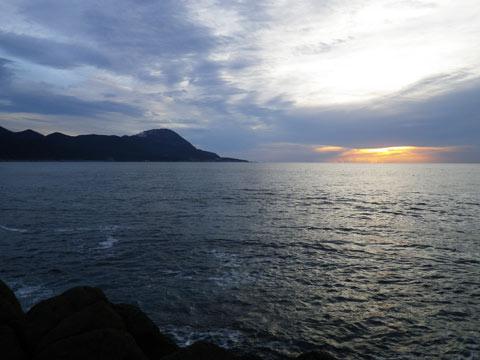津軽海峡の磯場