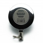 TIEMCO Logo Pin-on Reel
