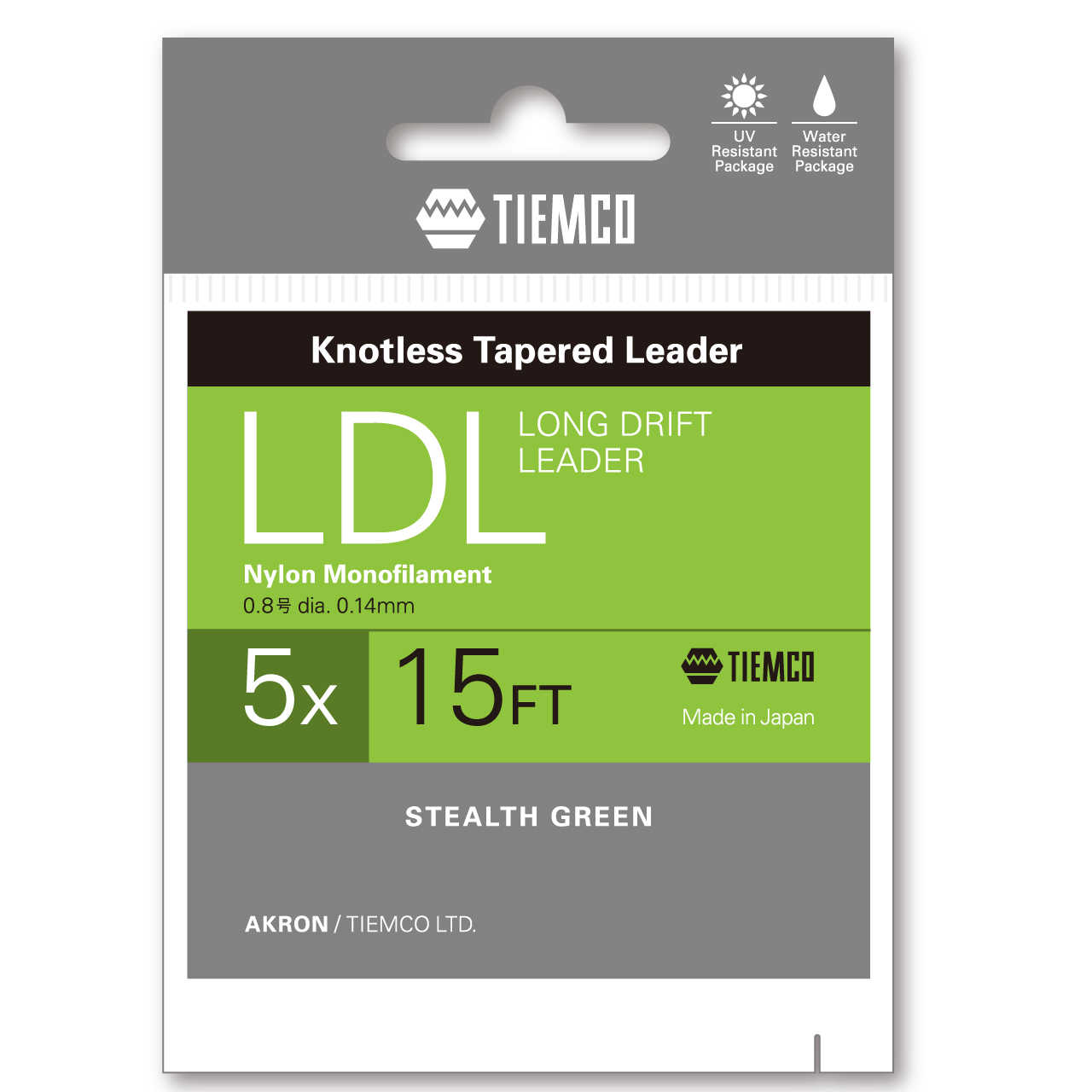 TIEMCO Long-Drift Leader