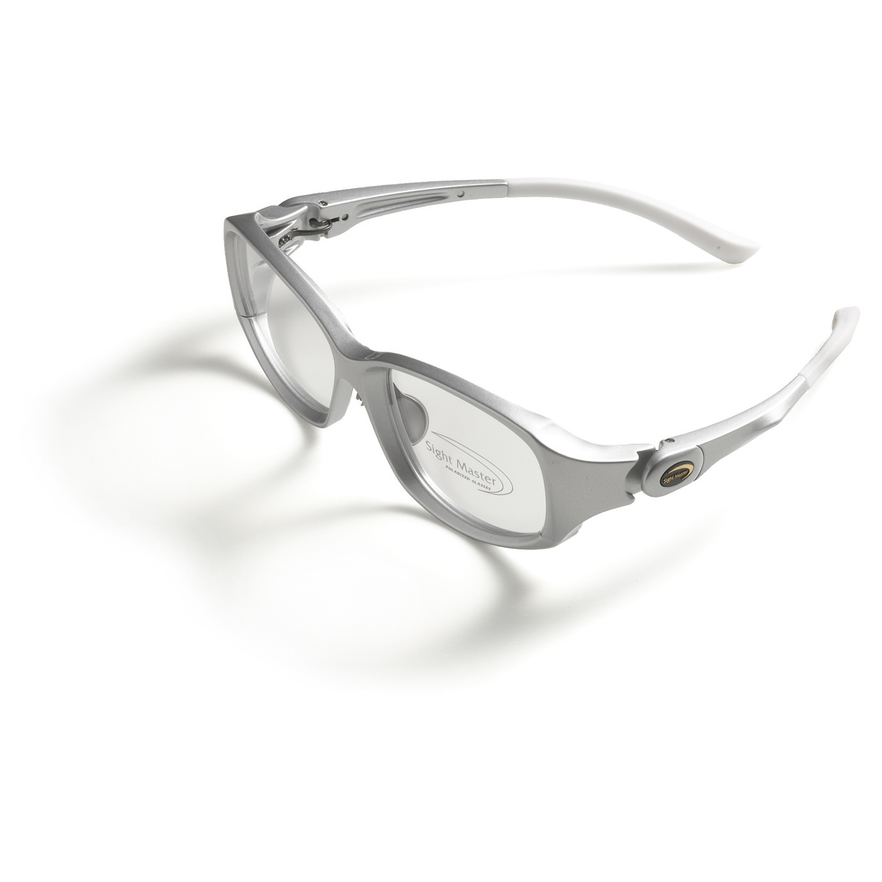 Barricade Silver DL Prescription Frame